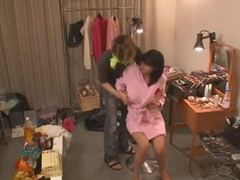 Incredible Japanese slut Hana Haruna in Amazing Handjobs, Changing Room JAV movie