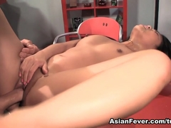 Cindy Starfall in My First Cream Pie - AsianFever