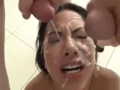 MORGAN LEE HER 1ST BLOWBANG 10 GUYS - 18xxnow.us