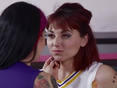 Best pornstars Joanna Angel, Draven Star, Tommy Pistol in Incredible Group sex, Emo adult clip