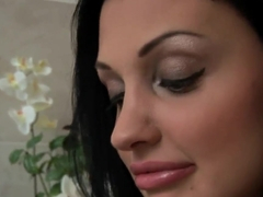 Aleska Diamonda and Aletta Ocean posing and masturbating
