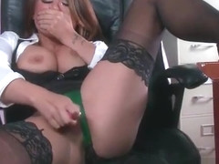 Sex Tape With Slut Busty Hot Office Nasty Girl (Eva Angelina) video-21
