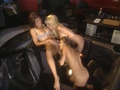 Babes Illustrated 8, Sydnee Steele, Alexandra Silk and Bobbi Barron scene