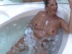 Margo Sullivan - Son Washing Moms Hair Margo Sullivan