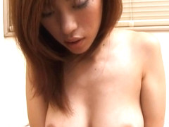 Yui Sarina gives number one blowjob!