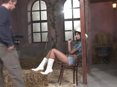 Angel Pink - Rodeo Girl - Backstage - 21 Sextury