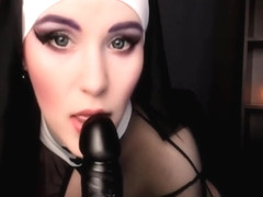 Young nun loves a lot of sex