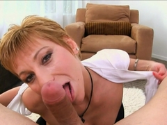 Crazy pornstars Gemma More, New Jersey in Incredible Swallow, Blowjob xxx movie
