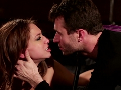 Hottest pornstars Sara Luvv, James Deen in Fabulous Cumshots, Big Ass adult clip