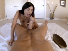 Young Serena sucking and fucking