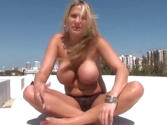 Awesome blond Alanah Rae gets anal bang