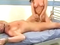 Nurse Penny Flame pleasantly treating cock
