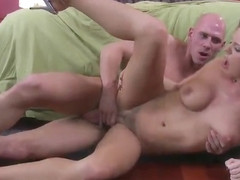 Awesome golden-haired mom Bree Olson got pounded very hard