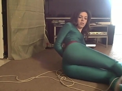 Kayla Jane Self bondage