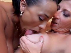 Latina Becca Diamond Gets Huge Clit Licked by PAWG Sara Jay!