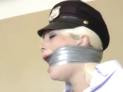 police woman captured