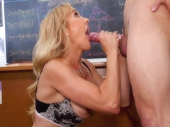 Teacher Brandi Love Really Cares...If You Have A Big Dick - MyFirstSexTeacher