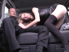 FuckedInTraffic - Hot Traffic Sex In The Backseat Of Th