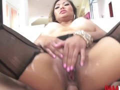 Bamvisions Asian Anal Slut Lana Croft