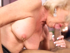 From Flight Attendant To 60PlusMilfs - Scarlet Andrews And Rocky - 60PlusMilfs