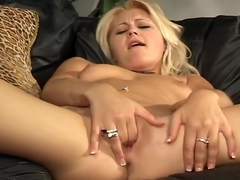 Staci Thorn Plays With Her Big Tits