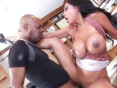 Instead Of Doing Her Job, Priya Rai Is Having Wild Sex With Her Black Co- Worker