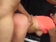 Innocent Big Booty Teen Is Disgraced For Asking A Ride