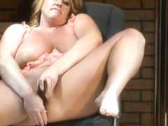 Giant titted blonde old pornstar Zoey Andrews