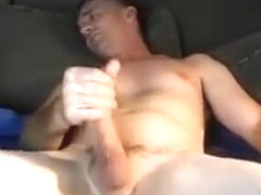 Daddy Jerking Off