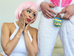 Luna Star & Van Wylde in The Great ZZ Egg Hunt - BrazzersNetwork