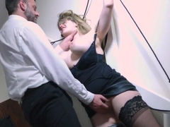 Sub slut bdsm fucked hard