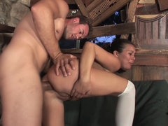 Ashley Blue takes it good and makes sure she is the last one standing