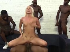 Sugar Kacey Villainess performing in a wild gangbang XXX scene