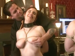 Group sex sex video featuring Sophie Monroe, Iona Grace and Nerine Mechanique