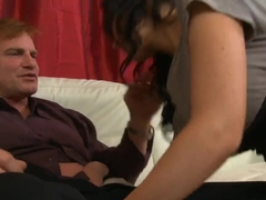 Medium titted brunette hottie Diana Prince gets fucked from Evan Stone