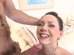Ashton Pierce rides on her lover like crazy