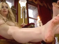Mistress Aiden Star's Foot Fetish Joi