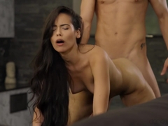 Andreina De Luxe in MMA fighter fucks long hair Latina - SexyHub