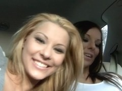 Debbie White, Cindy Hope, Nick Lang in Backseat hotties Video