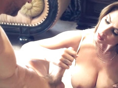 Roberta Gemma is often cheating on her husband, because she needs sex all the time