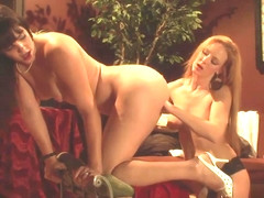 Audrey Hollander Fucks Bobbi Starr With Her Dildo