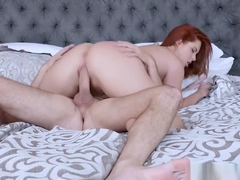 Drilling Beautiful Redhead Teen Edyn Blair
