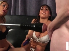 Submissive wanker machine fucked in JOI