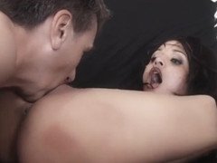 Petite Punk Beauty Deepthroating Dick