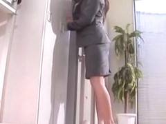 Horny Japanese model Aya Hirai in Best Secretary, Big Tits JAV clip