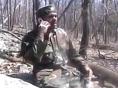 Gay Military Men Masturbating Outdoors