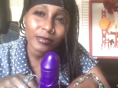 Sit & Ride Vibrating Inflatable Dildo Review/Demo