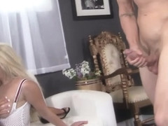 Threesome, Courtney Taylor Two Hot Blondes One Cock - CourtneyTaylor