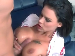 Horny Sluty Patient (Peta Jensen) Come To Cabinet And Bang With Doctor clip-26