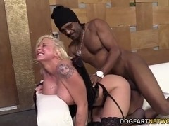Leya Falcon Gets Assfucked By A Hung Black Guy